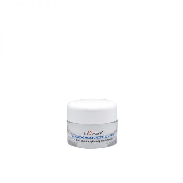 personalised skincare, snowperk balancing moisturizer gel-cream