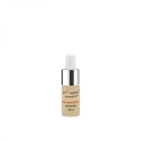 personalised skincare, snowperk pore minimising booster no.2