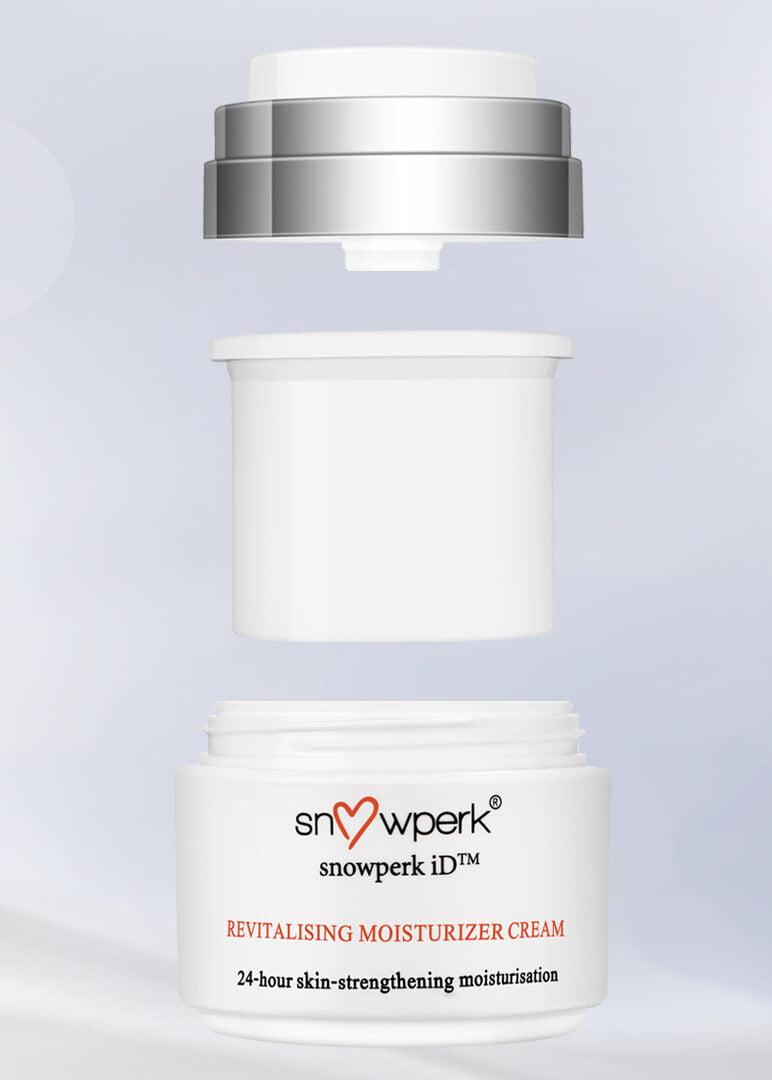 Personalised skincare - Revitalising Moisturiser Cream with