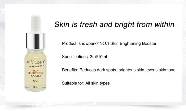 personalised skincare, snowperk, facial booster