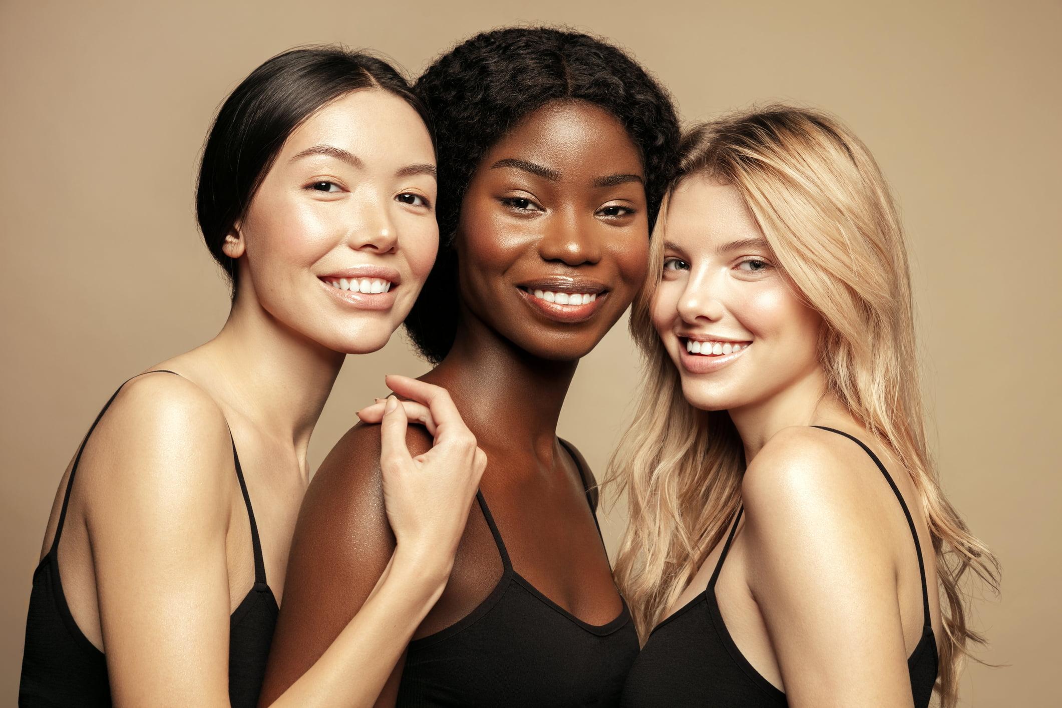 3 pretty women
