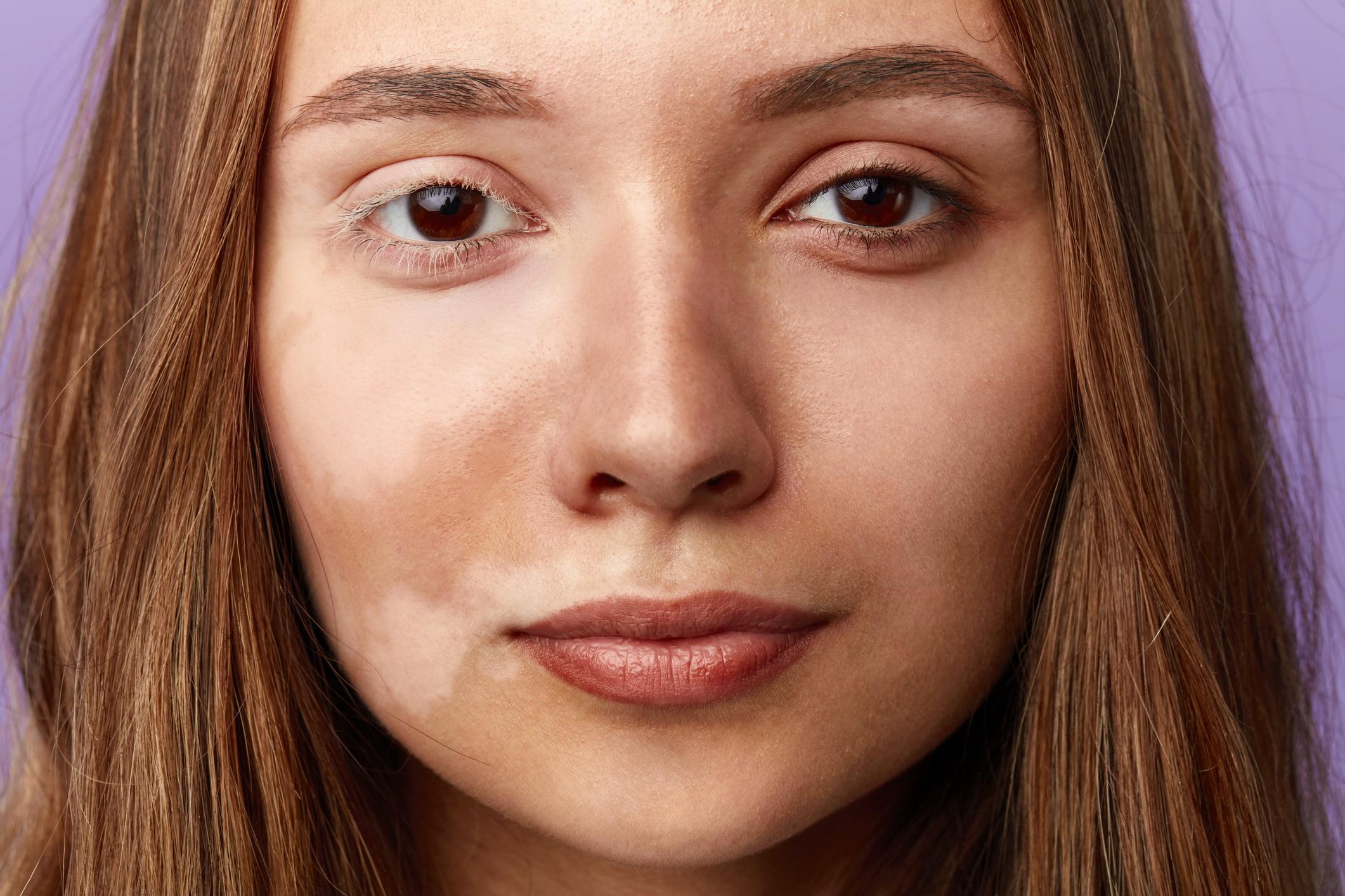 A lady's face