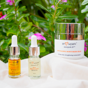 snowperk Soothing & Brightening Set for dehydrated skin, sensitive skin, acne scar and acne-prone